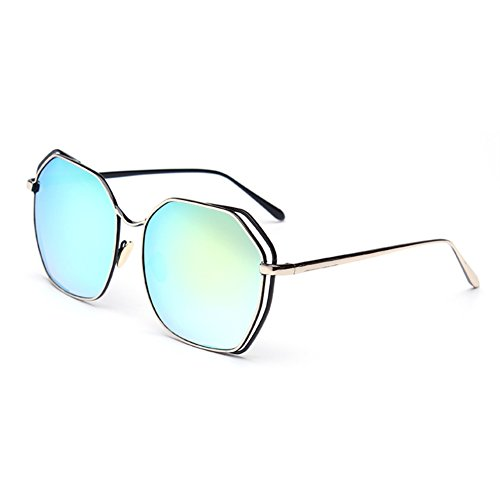 LENSTAR DSG800029C3 New Style PC Lens Metal Sunglasses,Metal Frames - Varifocal Specsavers Lenses