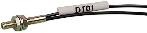 (Optex FA diffuse fiber optic cable M3 threaded head 2m long cuttable fiber (R15) bend radius)