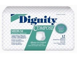 2349432 Brief Dignity Compose Adult Large 96 Per Case sold as Case Pt# 42390 by Hartmann USA