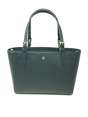 Tory Burch Emerson Small Buckle Tote Bag Luggage 49127 (Jitney -