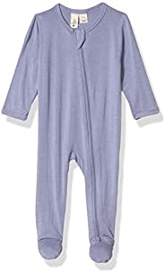 Kyte Baby Soft Organic Bamboo Rayon Footless Rompers, Zipper Closure, 0-24 Months