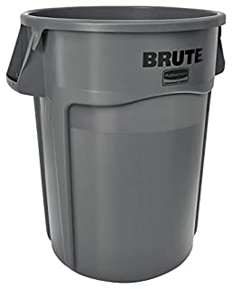 Rubbermaid Commercial FG265500GRAY Brute Heavy-Duty Waste/Utility Container (55-gallon, Gray) (B005KDB3TE) | Amazon price tracker / tracking, Amazon price history charts, Amazon price watches, Amazon price drop alerts