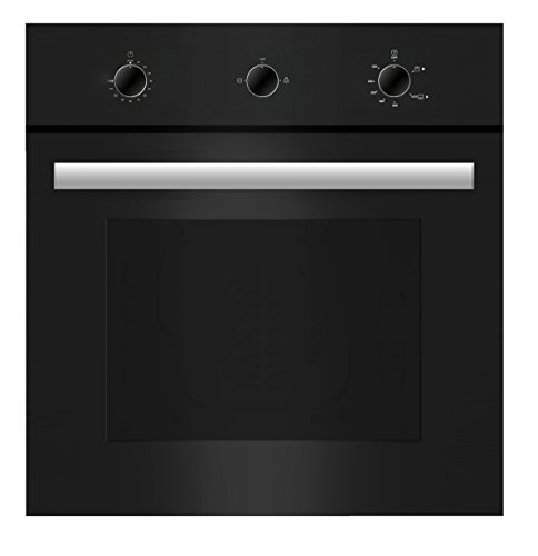 Empava 24″ Tempered Glass Built-in Single Gas Wall Oven 1500W Black