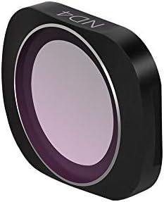 DJI OSMO POCKET ND4 KuGi NDレンズフィルター 減光フィルター レンズ保護 光学ガラス 専用 撮影 レンズ保護 広角レンズに適 多層加工 鮮明度 薄枠 撥水 防汚 撥油性 光量調節 ND4 DJI OSMO POCKET対応