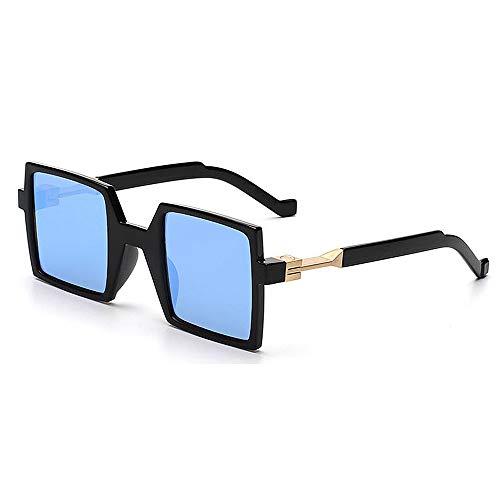 de personnalité pour d'été Conduite extérieure la Gu de Forme Protection Lunettes Soleil de Plage UV carrée Forme la voyageant de Peggy de Bleu xSvw16qWOw