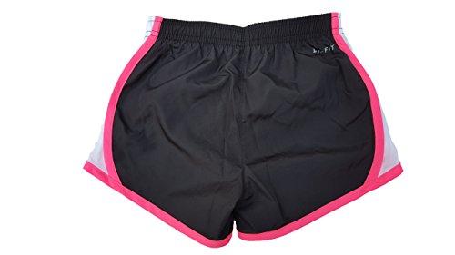 Nike Girls Performance Shorts (5, Black/Hyper Pink)