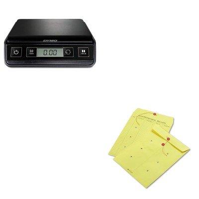 Button Colored Interoffice Envelope - 5