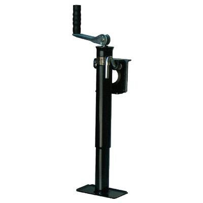 Tongue Jacks - 22680 10'' top wind tongue jack w/weld-on b by Dutton-Lainson