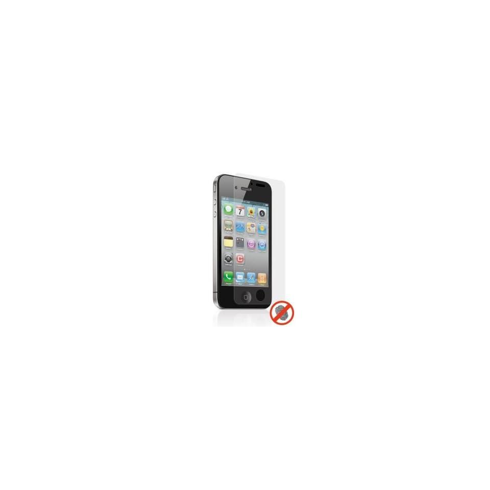 Premium Anti Fingerprint Screen Protector for iPhone 4/4s, (all models)