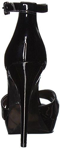 Sandalo Sintetico A Tacco Alto Da Donna In West Dryhand Sintetico Nero
