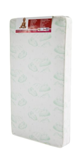 Youth Bed Mattress (Dream On Me 96 Coil Spring Crib and Toddler Bed Mattress, 6