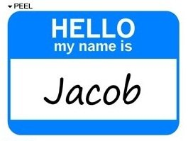 Image result for my name is jacob images