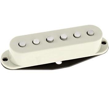 DiMarzio DP110W - Pastilla para guitarra eléctrica, color blanco: Amazon.es: Instrumentos musicales