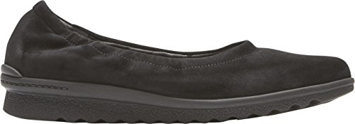 Rockport Womens Truflex Chenole Ballet Black Suede low cost for sale sJRNWfYO