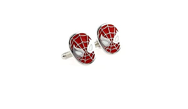 Corbata rojo del Comandante Hombres de Marvel Comics Spiderman ...