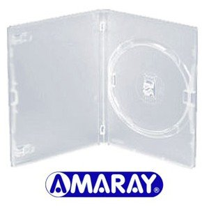 Amaray - Lote de 10 carcasas individuales para DVD o CD (14 ...