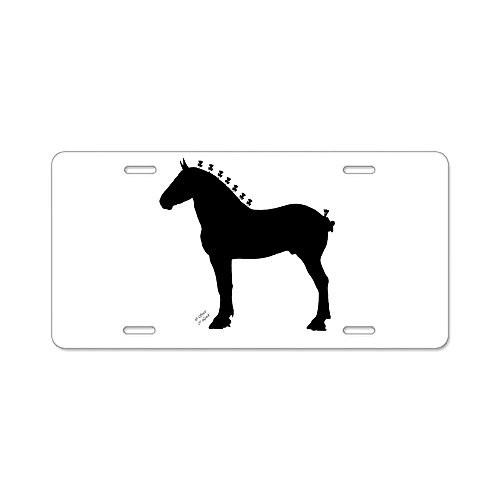 (CafePress - Icepick_Lineart_Silhouette_Signed - Aluminum License Plate, Front License Plate, Vanity Tag)