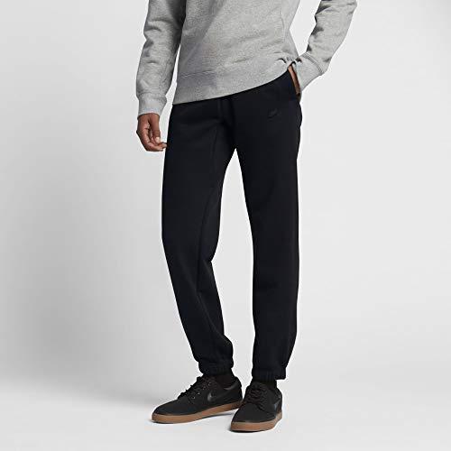 (Nike Mens SB Icon Fleece Sweatpants Black/White 882830-010 Size Small)