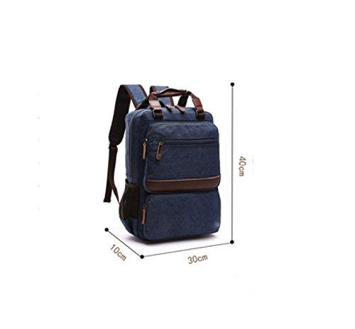Business Leisure Travel Multi Canvas Beige Laidaye purpose Shoulder Backpack qpIOt