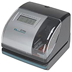 Acroprint ES700 Electronic Time Clock & Document Stamp w/ Atomic Time Sync