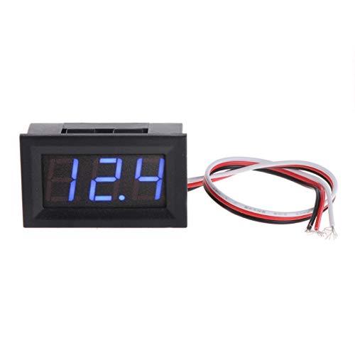 Price comparison product image Mini Voltmeter Tester Digital Voltage Test Battery DC 0-30V Auto Car Motor Voltage Panel Meter LED Voltmeter Tool