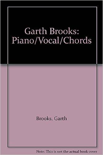 Garth Brooks Pianovocalchords Garth Brooks 0029156190939