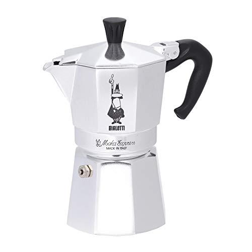 Bialetti 1164 Moka Express Export Espresso Maker, Silver
