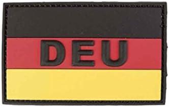 Bkl1 Bw Hoheitsabzeichen 3d Patch Deu Klett 5 5x8 5cm Ärmelabzeichen Srg 1585 Sport Freizeit