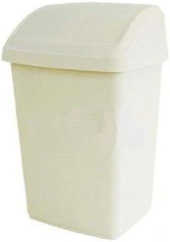 HoitoDeals Plastic Swing Bin For Home Kitchen Waste Rubbish Dustbins