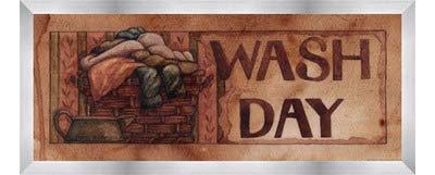 【新作入荷!!】 Wash B01MRVE1OL Day – by Diane Knott – Wash 20 x 8インチ – アートプリントポスター LE_641769-F9935-20x8 Stainless Steel Wood Frame B01MRVE1OL, Devil Bambina デビルバンビーナ:ad9a6f9d --- a0267596.xsph.ru