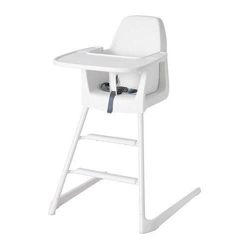 IKEA Junior//Hochstuhl mit Tablett Langur wei/ß