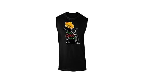Cinco de Mayo Cat Infant T-Shirt Dark TooLoud Happy Cinco de Meow