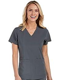 b1a268981ba Amazon.com: 4X - Scrub Tops / Medical: Clothing, Shoes & Jewelry