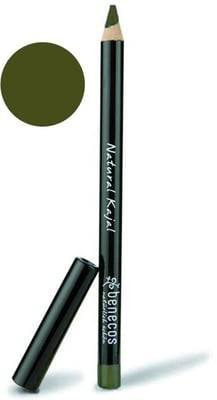 BENECOS - Natural Eyeliner Night Olive- Provides eyes with glamourous definition- With precious wax & vitamin E - Talc free & without perfume - For an intense look