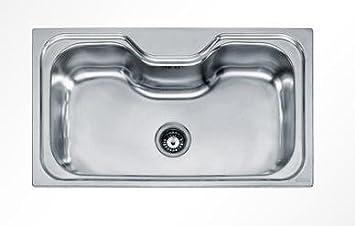 Accessori Lavello Franke Acquario.Franke Lavello Acquario In Acciaio Inox Satinato Amazon It