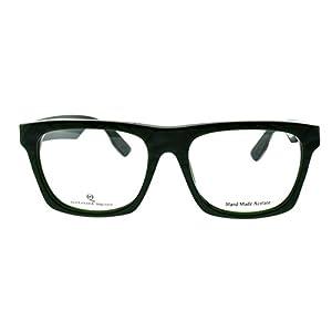 Alexander McQueen MCQ 0031 AZ1 Dark Green Rectangle Eyeglasses