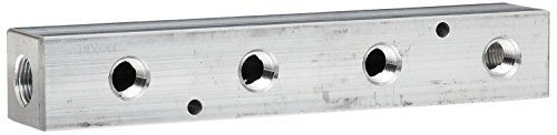 Bar 300 Manifold (Dixon AMF42 Aluminum Air Fitting, Bar Manifold, 1/4