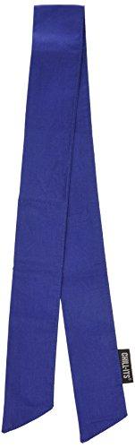 Ergodyne 150-12307 Chill-Its 6700 Evaporative Cooling Bandana-Tie, Solid Blue ()