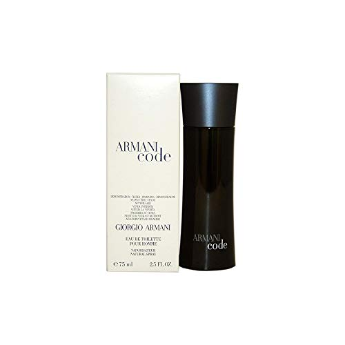 - Giorgio Armani Code Men's 2.5-ounce Eau de Toilette Spray (Plain Box Packaging)