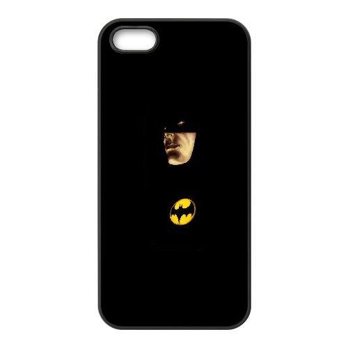 S9V31 Batman Peinture V3W6AY coque iPhone 4 4s cellulaire cas de téléphone couvercle coque noire DI6GBC0NI