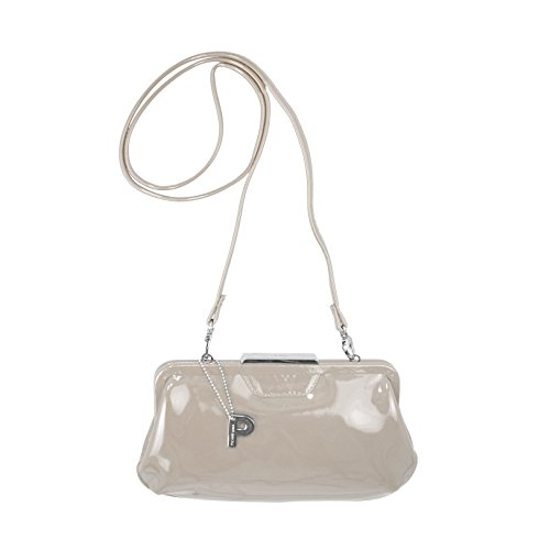 PICARD Damen Tasche Abendtasche Clutch Auguri Creme Lack 4784