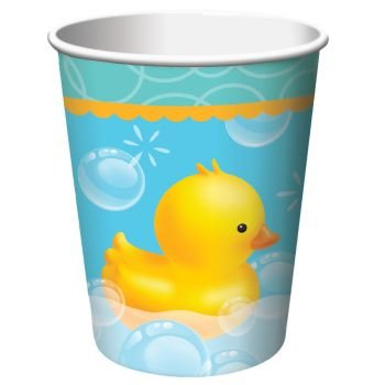 Bubble Bath 9 oz Hot/Cold Cups (Ducky Paper)