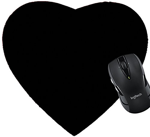 MSD Mousepad Heart Shaped Mouse Pads/Mat design 19315768 Carnival in Venice image with ample copyspace Isolated On black - Heart Shaped Mouse