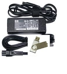 Bundle:2 items -Adapter&Power Cord /USB Drive:HP Pavilion DV7 Series: 90W Smart Pin AC Adapter