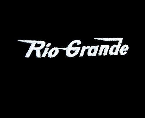 Rio Grande Speed Lettering Long Sleeve Shirt Forest Green Adult 3XL den11LS