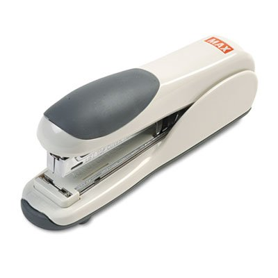 Flat-Clinch Standard Stapler, 30-Sheet Capacity, Gray, Sold as 1 Each ()