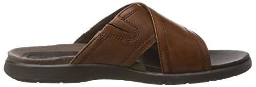Braun Band Uomo New Brown DS Rockport Leather Sandali Cross 6qUxwFXnBP