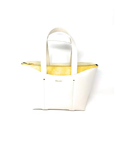 Pollini 15 Pour 40 Cabas Cm Blanc 25 Femme 7g7qSRwxr