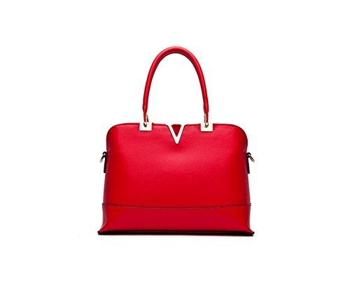 Nuevo De Pu Cruz Invierno Fashion Rojo Hombro Bolso Qckj Cuerpo Mujeres Bolsa Vino YxzUYgfn