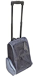 14. HDP Roll Along Carrier & Backpack Luggage ON WHEELS